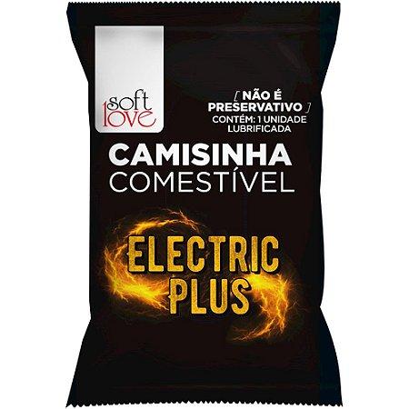 Camisinha Electric Plus Funfional Solúvel Soft Love