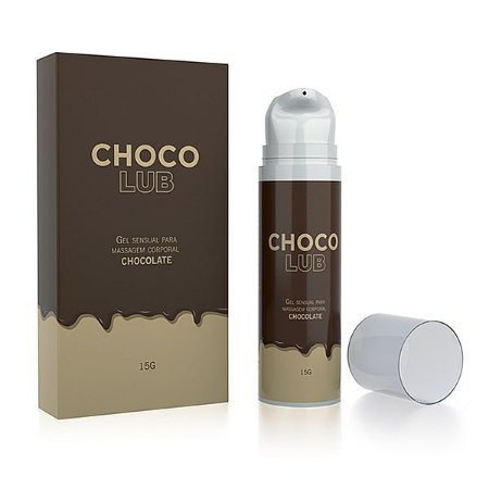 LUBRIFICANTE BEIJÁVEL CHOCOLUB SABOR CHOCOLATE - 15G