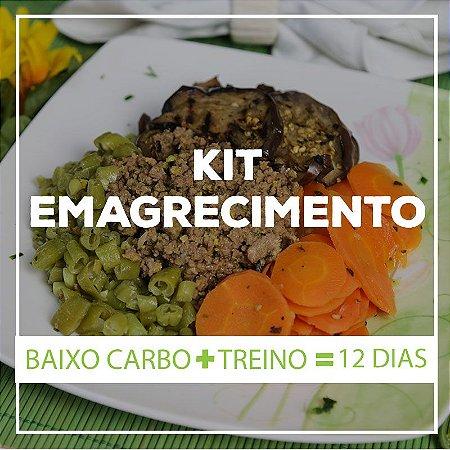 KIT EMAGRECIMENTO 12 Dias - 24 Marmitas Saudáveis