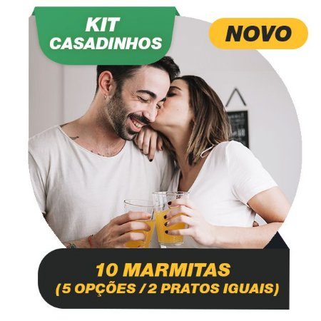 KIT CASADINHOS - 10 marmitas