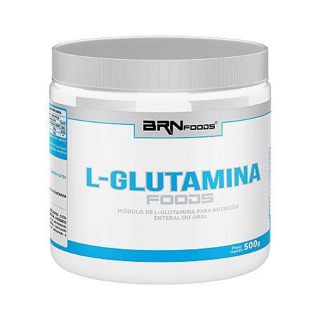 L-Glutamina 100% (300g) - BRN Foods