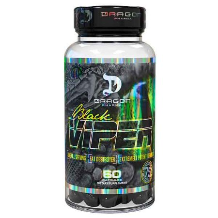 Black Viper 60 Cápsulas - Dragon Pharma