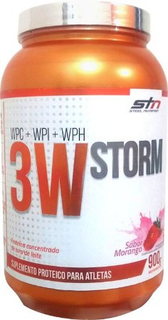 Whey Protein 3W Storm (900g) Pote - STN Nutrition