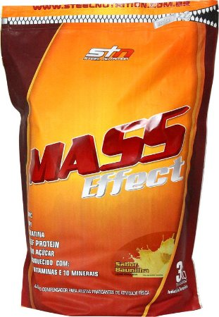 Hipercalórico Mass Effect Refil (3kg) - STN Nutrition