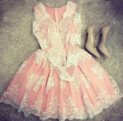 Maravilhoso Vestido Bordado Amore