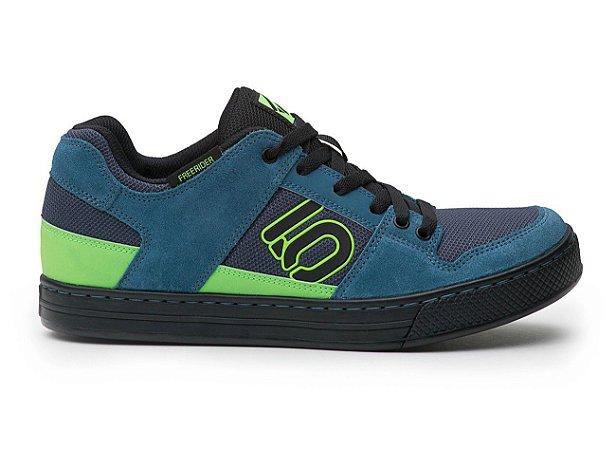 Freerider - Blanch Blue / Solar Green