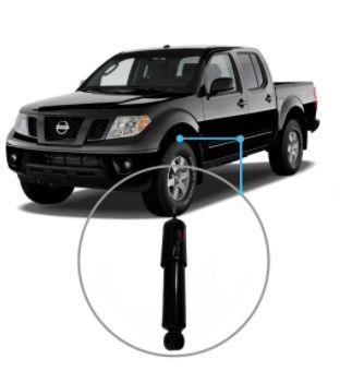 Amortecedor Dianteiro Nissan Frontier 4x4 02/05 Unidade
