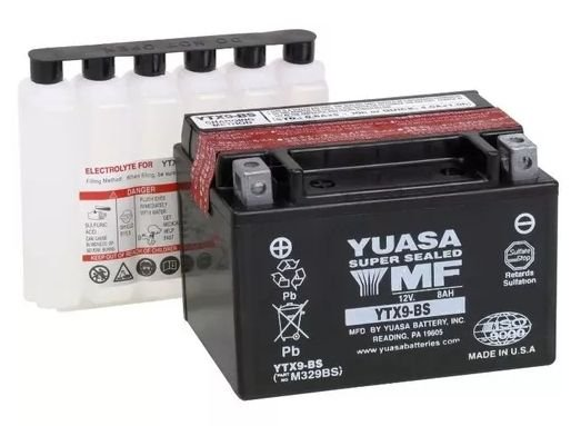 Bateria Yuasa Ytx9-bs 12v 8ah Made In Japan