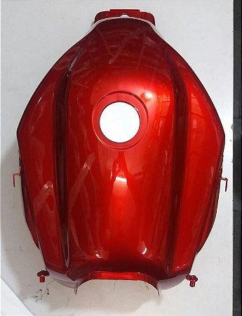 Tanque De Combustível Yamaha Fazer 150 Vermelha Novo