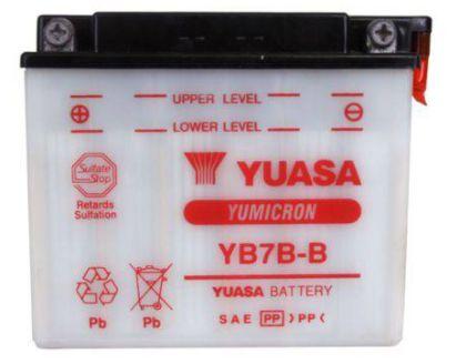 Bateria Yuasa Original Nx 150 Xr 200 Nx 350 Sahara Yb7b-b