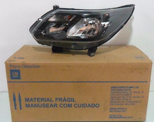 Farol S10 Trailblazer Esq 2017/18 S/ Regul Elét. Gm 52114973