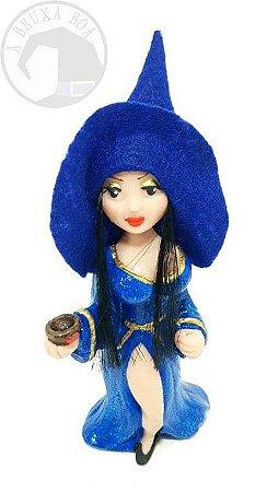 Jady - Feiticeira Sedutora - Vestido Azul e Cabelo Preto
