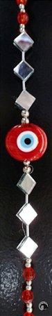 Fio de Luz - Olho Grego - Vermelho