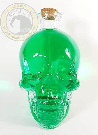 Moringa garrafa Caveira de vidro - 450 ml