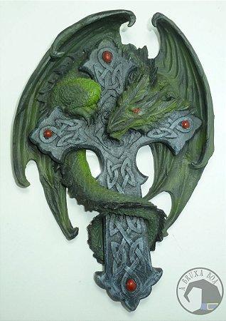 Dragão na Cruz Celta (parede)