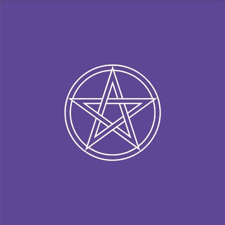 Toalha Pentagrama - Roxa