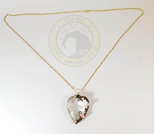 Amuleto - Cristal - Coração