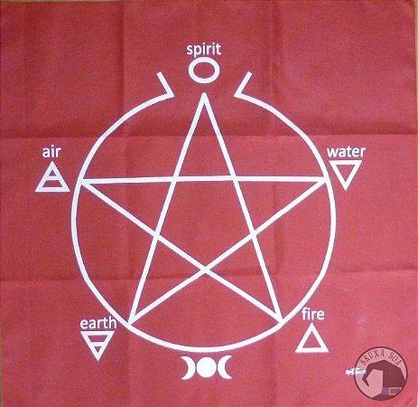 Toalha para Altar - Pentagrama
