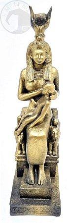Isis - Mãe de Hórus e Mãe do Cosmos