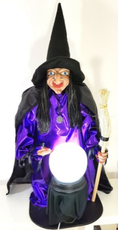 Bruxa Rhelga - Guardiã da Vassoura Mágica