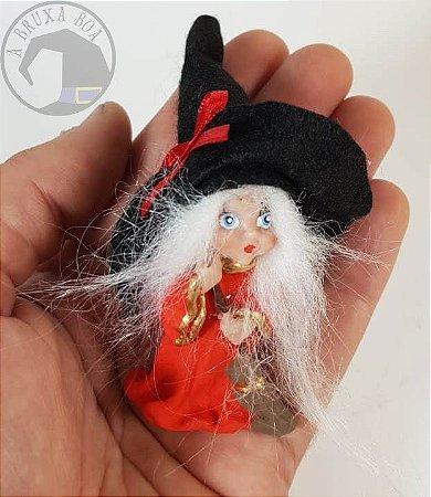 Bruxinha Ilka - Vestido Vermelho