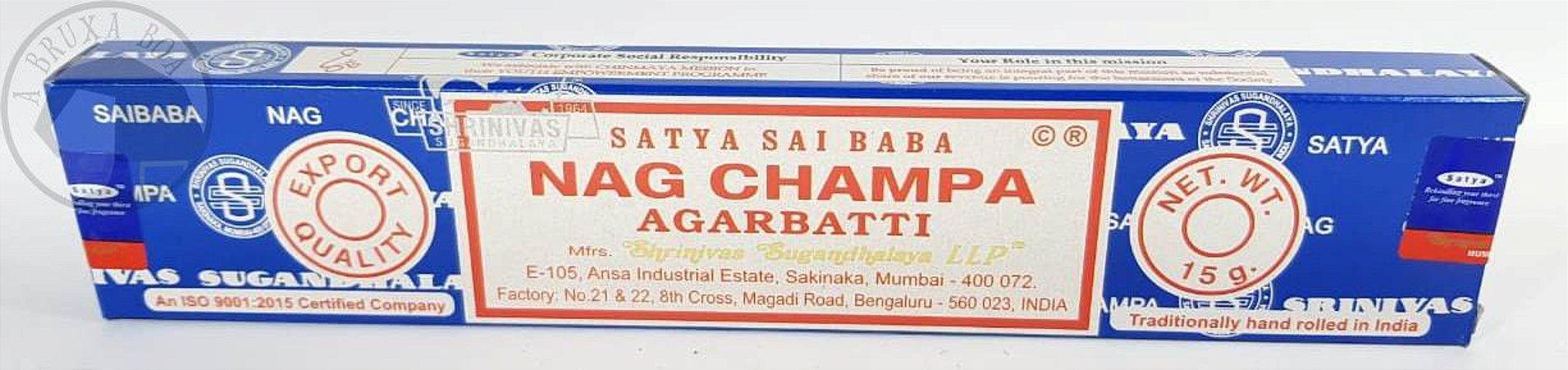 Incenso Nag Champa Agarbathi