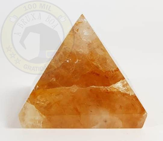 Pirâmide Quartzo Hematoide