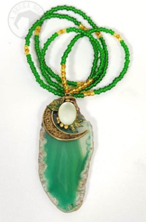 Amuleto -  Ágata Verde