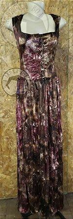 Vestido Sacerdotisa com Capuz