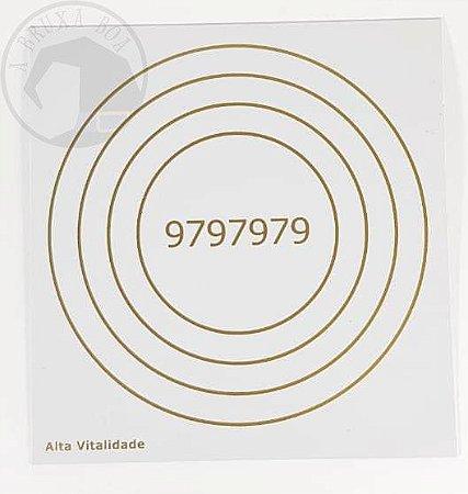 Gráfico Alta Vitalidade - 14x14 cm