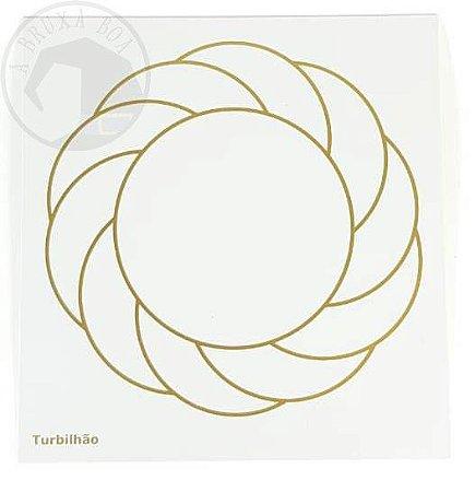 Gráfico Turbilhão - 14 x 14 cm
