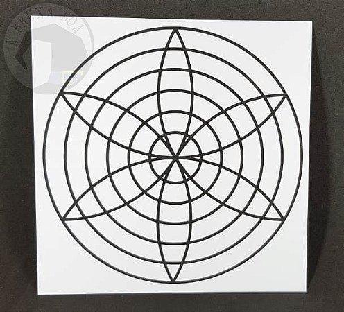 Gráfico Harmonia - PVC - 17 x 17 cm
