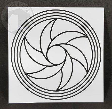Gráfico Triturador - PVC - 17 x 17 cm