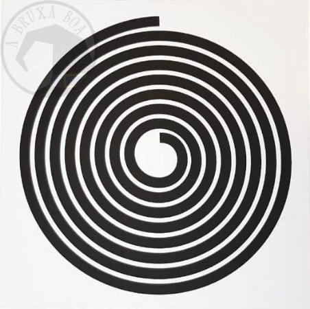 Gráfico Espiral - PVC - 17 x 17 cm
