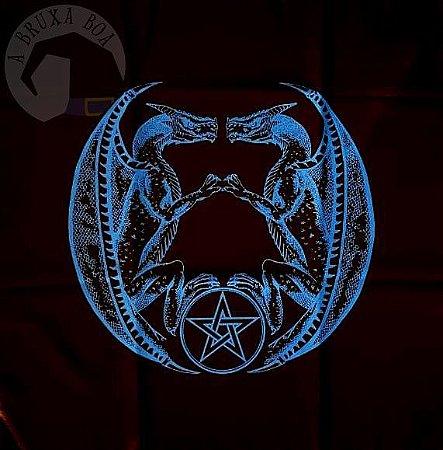 Toalha Dragão - Azul