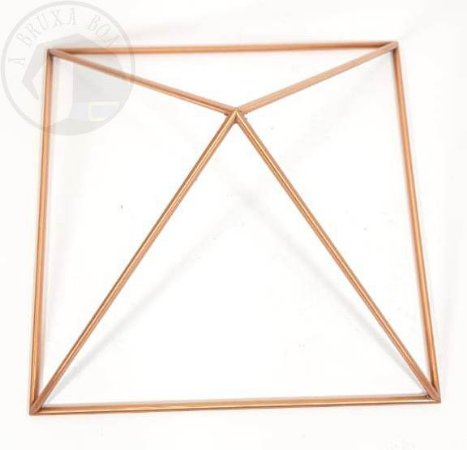 Pirâmide de Cobre - Base de 16 cm