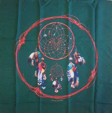 Toalha para Baralho - Mandala Filtro dos Sonhos