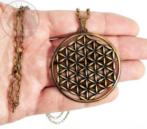 Colar Flor da Vida - Geometria Sagrada