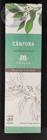 Incenso Natural - Cânfora - Limpeza