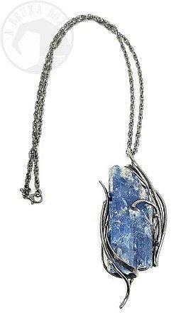 Amuleto - Cianita Azul