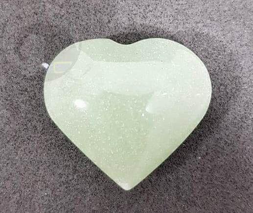 Coração de Quartzo Verde (Unidade)