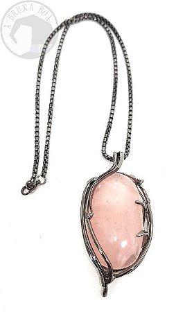 Amuleto Quartzo Rosa