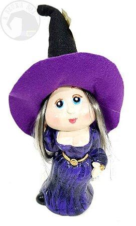 Bruxinha Margery - Vestido Roxo