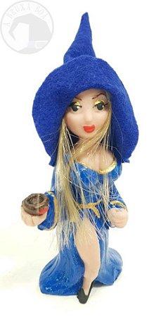 Jady - Feiticeira Sedutora - Vestido Azul