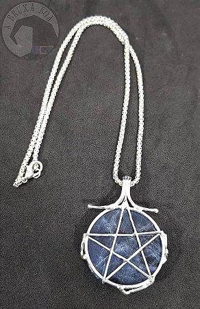 Amuleto - Sodalita e Pentagrama