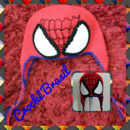 Touca do Homem Aranha