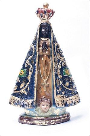 Imagem de Nossa Senhora Aparecida - 25cm - Barroco