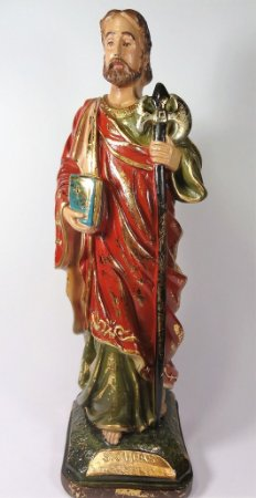 Imagem de São Judas Tadeu - 30cm - Barroco