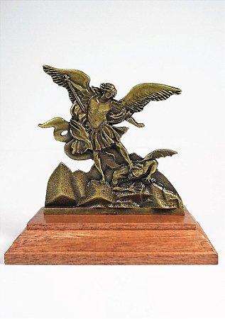 Imagem de São Miguel Arcanjo - 8cm - Metal + Medalha