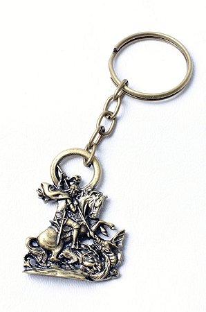 Chaveiro de São Jorge + Medalha